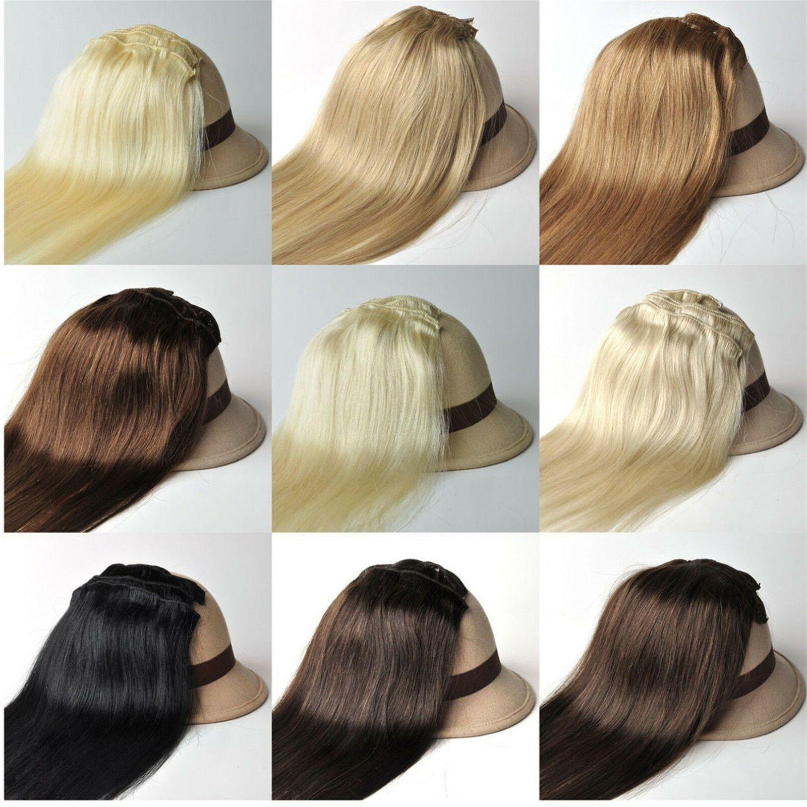 330g 12PCS Thick Remy Hair Extension Full Head