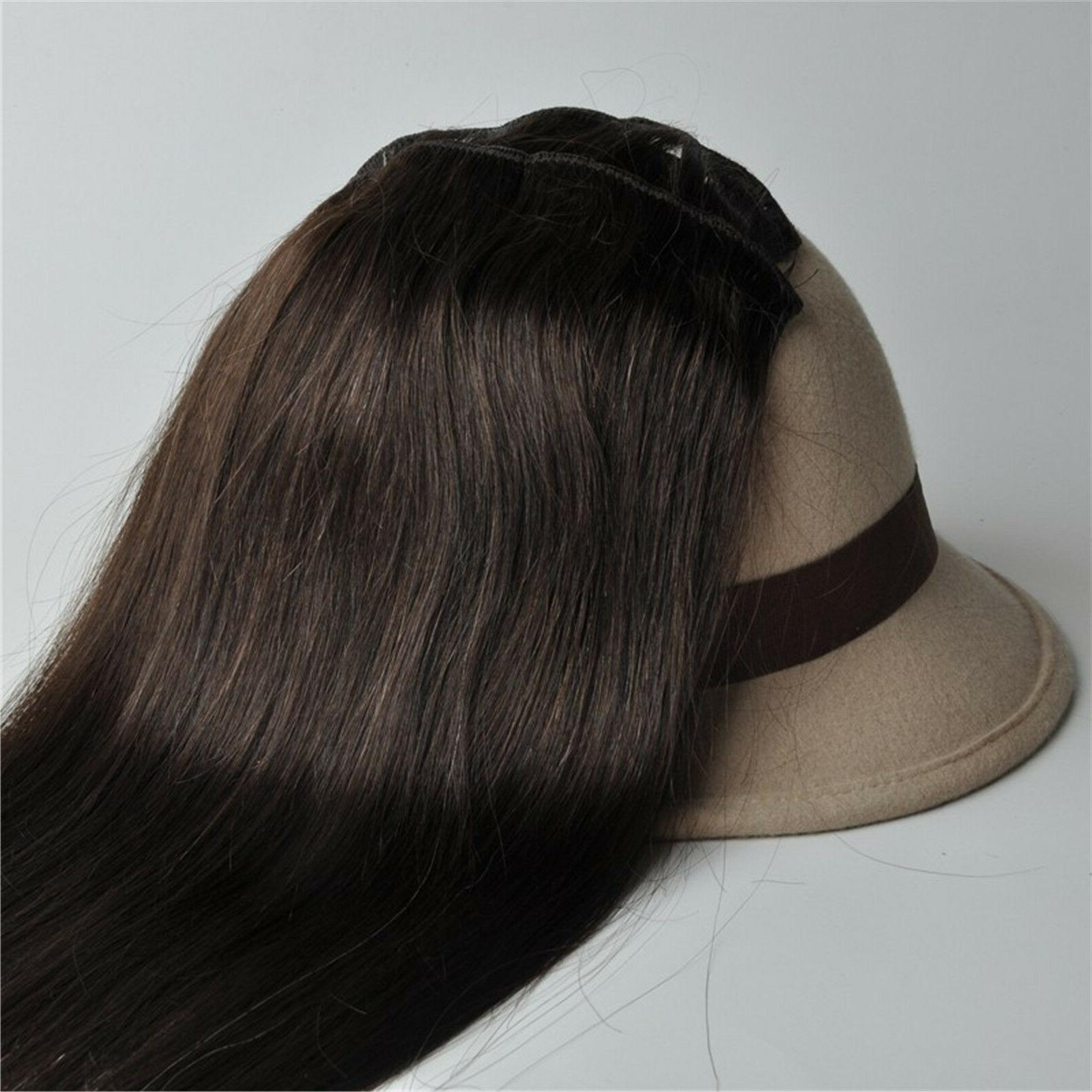 330g Thick 100%Real Remy Human Full
