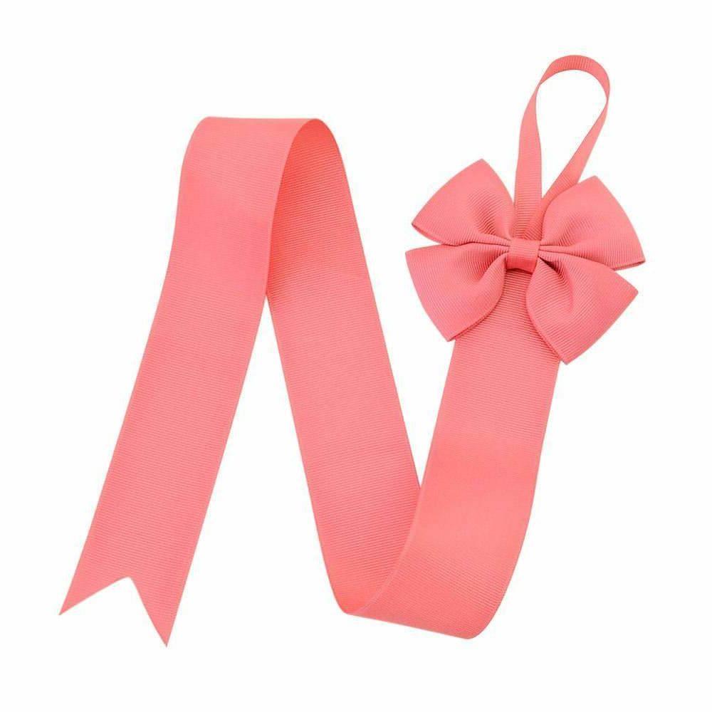 7pcs Grosgrain Tie Hair Clip Holder Organizer Hanger