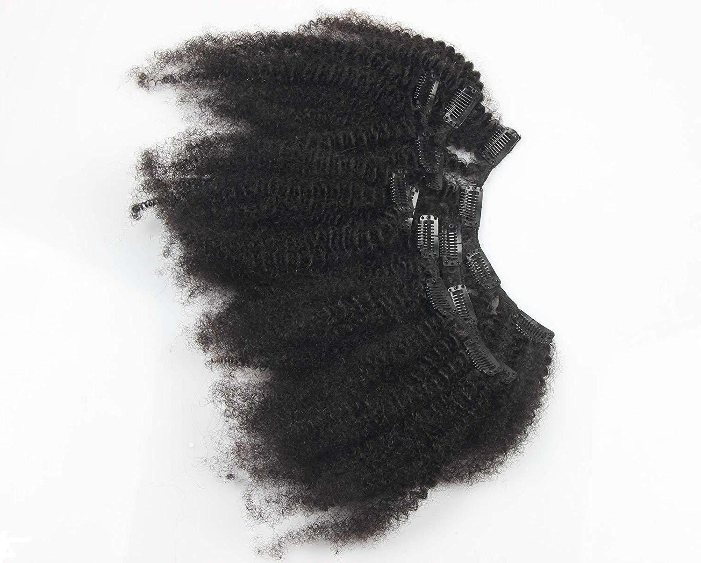 "8""-18"" Clip 100% Human Hair Afro ins 7pcs70g"