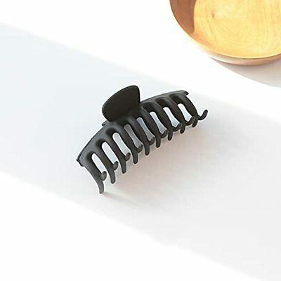 8 Pcs Big Hair Claw Clips, Strong Matte Large Thick or Thin