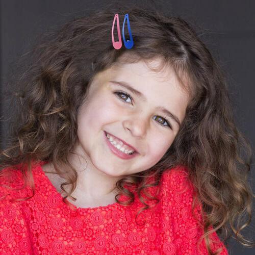Snap Hair Kids Girl BB Clips