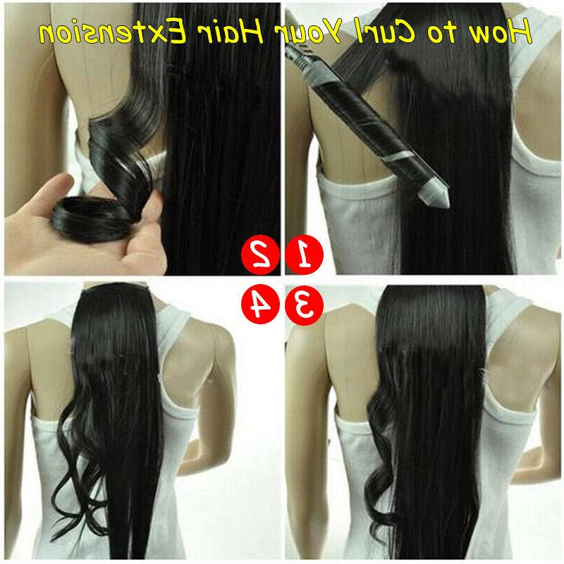 Clip in Human Hair Extensions Real Remy Hair Long