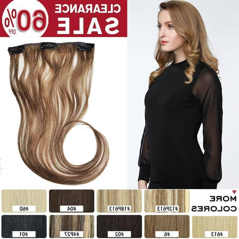 clearance one piece clip in human hair