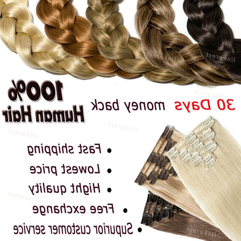 AAAA+ Remy Clip in 100% Hair US