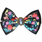Disney Alice In Wonderland Keyhole Floral Bow Tie Hair Clip
