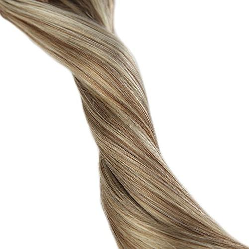 Full 18inch in Balayage Hair Color #613 Highlighted Hair Real Pcs Gram