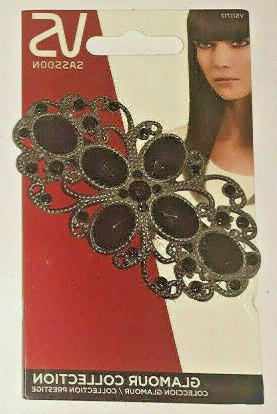 barrette black hair accessory noc hair clip