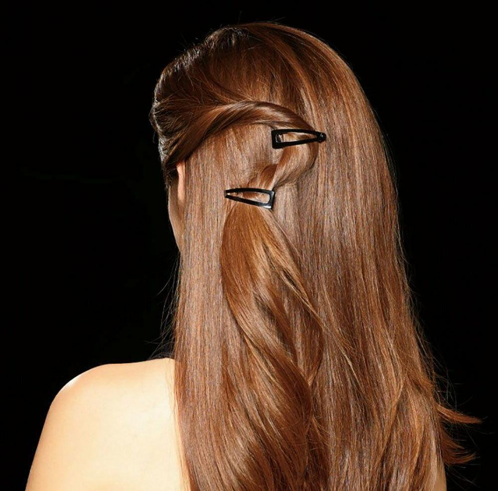 Barrettes Women Hairpins Double Day Hold