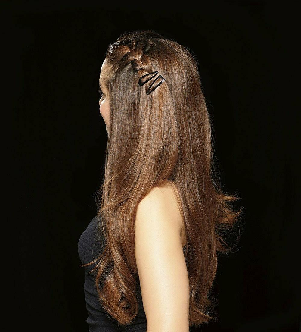 Barrettes Clips Women Hair Pins Black Hairpins Grip All Day Hold