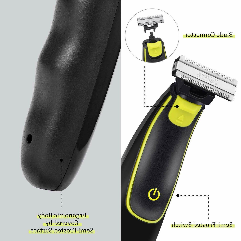 Beard Trimmer Electric Razor for Men Mustache Trimmer Clip...