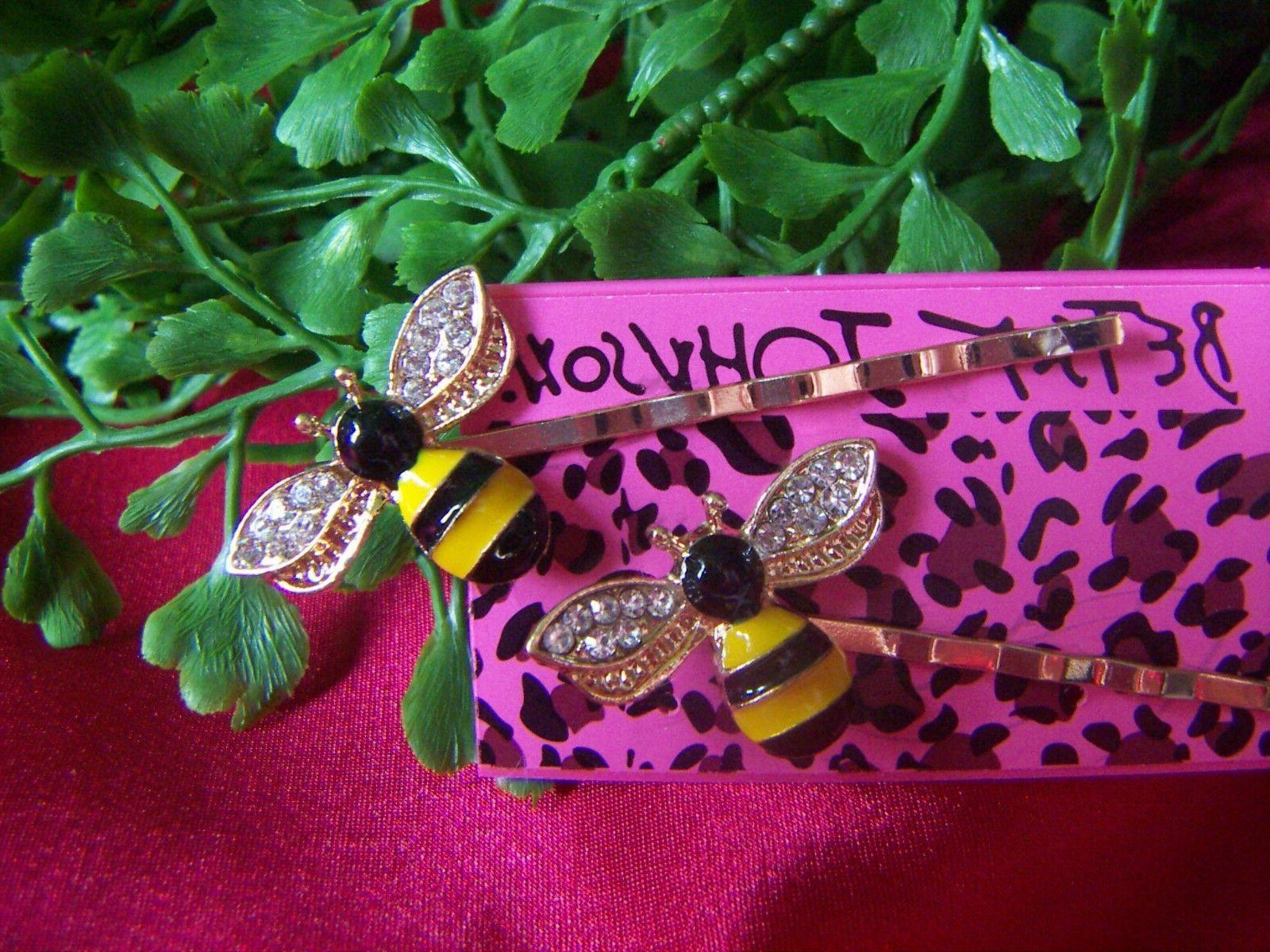 Betsey Honey Bee Hair Clip Pin