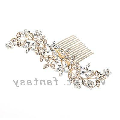 Jewelry Rhinestone Clips Combs
