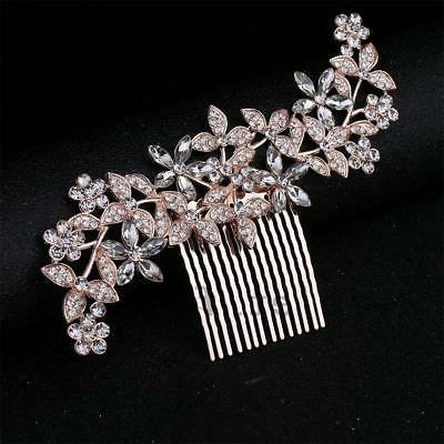 Bridal Hair Jewelry Crystal Clips Combs
