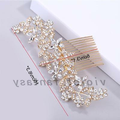 Bridal Hair Jewelry Clips Pins Combs Wedding