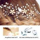 Bridal Hair Comb Hair Jewelry Crystal Rhinestone Hair Clips