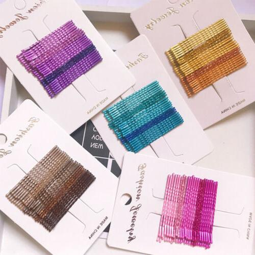 candy color hair clips bobby pins accessories