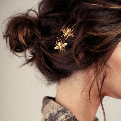 Wholesale Women's Metal Crystal Rhinestone Bobby Hair Pin Ba