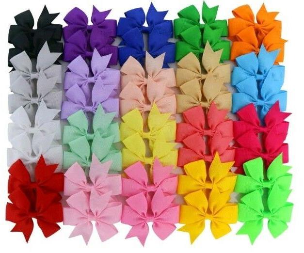 chiffon 3in boutique grosgrain ribbon pinwheel hair