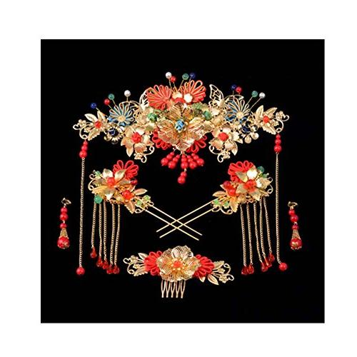 chinese ancient bridal hair ornaments