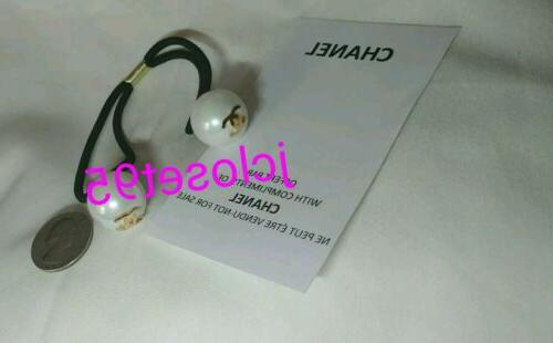 clearance vip chanel double white pearls gold