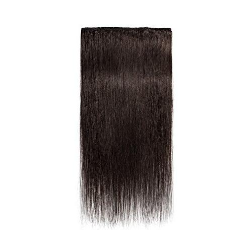 Clip Extensions Remy Human Standard Weft 20 70g 8 Pcs 18 Clips Thick Soft Straight Beauty #2 Dark Brown