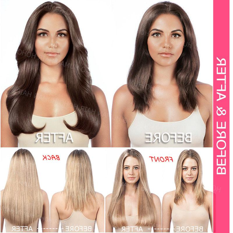 Wholesale In Remy Human 40CM 60CM Straight Thick