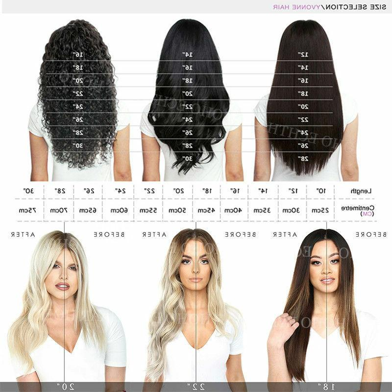 Wholesale Clip 100% Remy Human Hair Extensions 40CM Thick