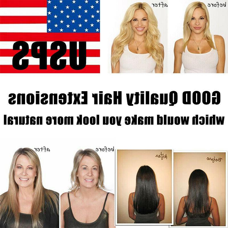 Clip in Extensions 100% Real Remy Hair Colour Weft