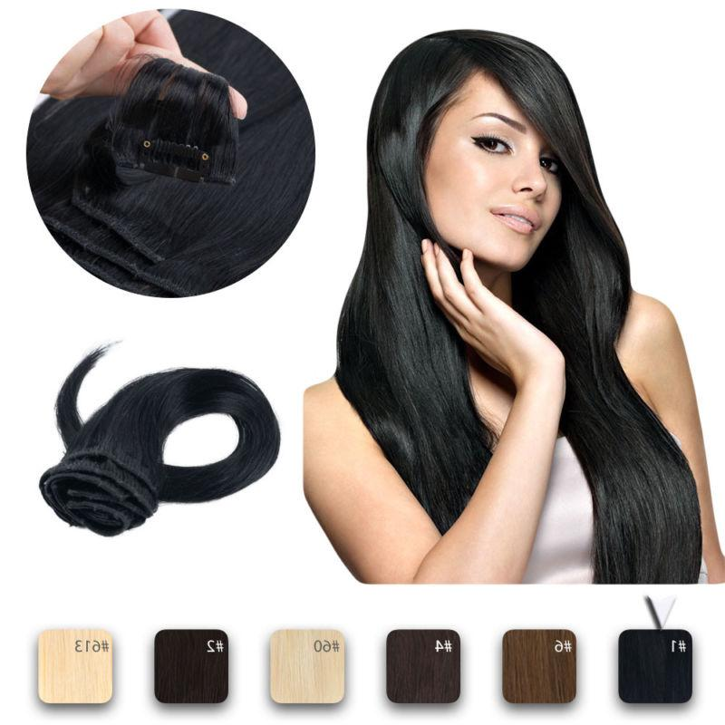 Clip Human Extensions Full Real Colour
