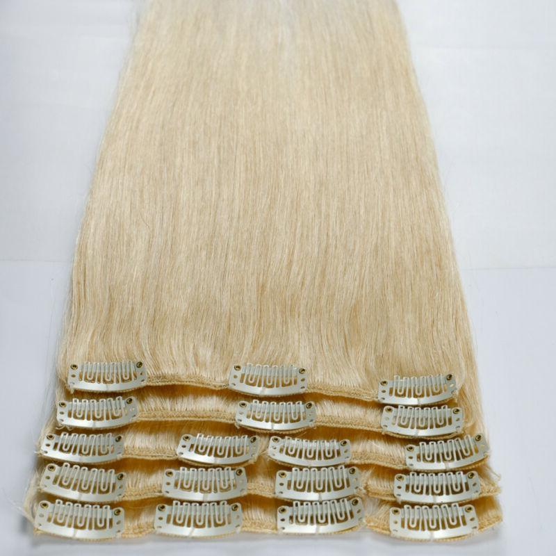Clip in Extensions Full Real Remy Colour