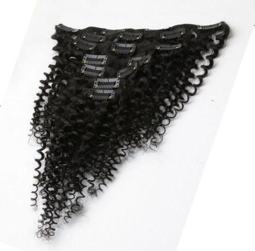 Kinky Extensions 7pcs/set Hair US