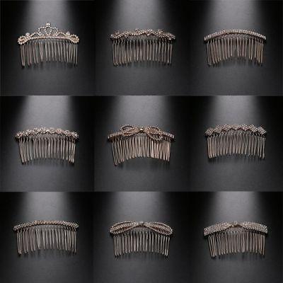 Crown Butterfly Crystal Hair Rhinestone Hair