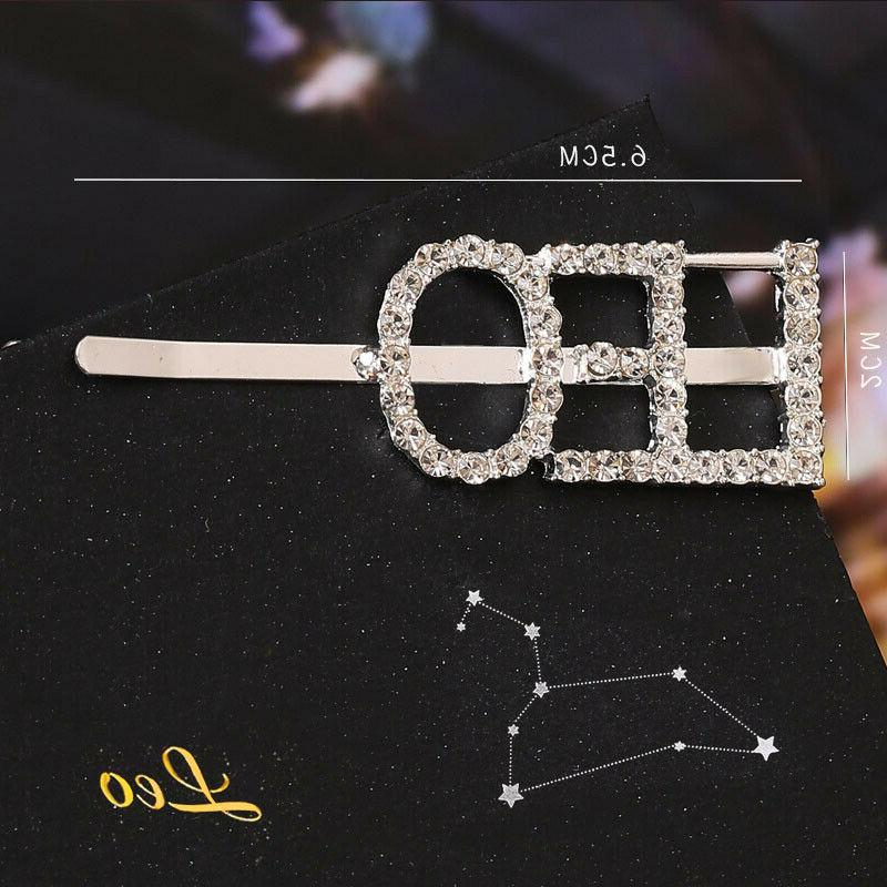Crystal Letter Pins Bobby Headwear
