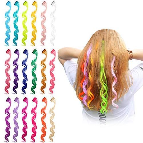 curly wave clip hair extensions