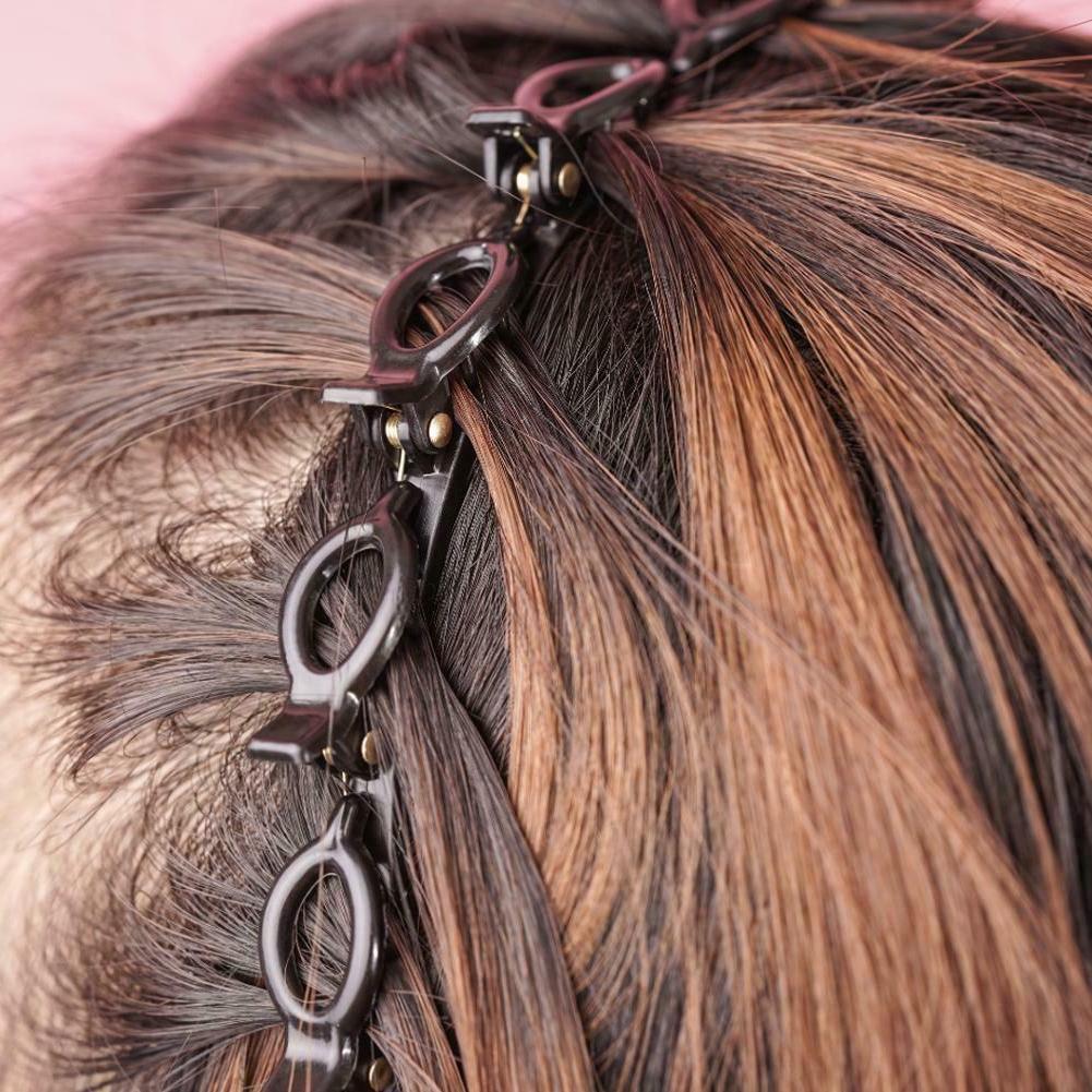Double Clips Hair Hairpin Headband Clips #