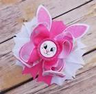 Easter Bunny Hair bow handmade