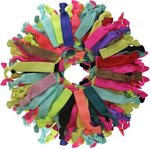 Elastic Ties, Crease Ponytail Holders, Bows Over