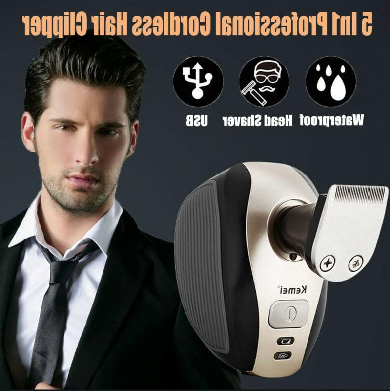 electric professional hair cut clippers cutter tool