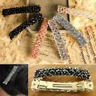 Women Bling Headwear Handmade Full Crystal Hair Clip Barrett