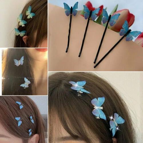 Fashion Butterfly Clip Barrette