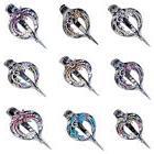 fashion flower hair clips clamp metal alligator