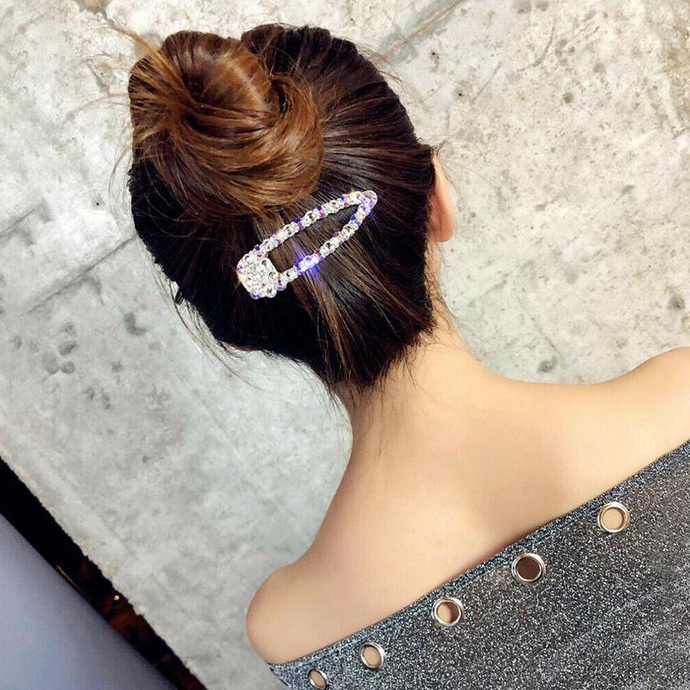 Fashion Crystal Hair Clips Bobby Hairpin Hair Accessories