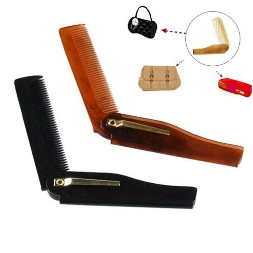 Fashion Men's Handmade Folding Pocket Clip Hair Moustache Be