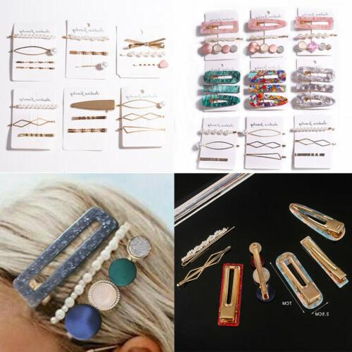 Fashion Hairband Pin Barrette Snap