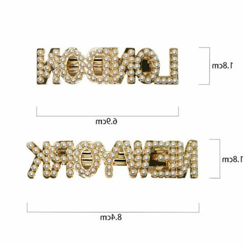 Fashion Letters Clip Bobby Pin Barrette Hairpin Gifts