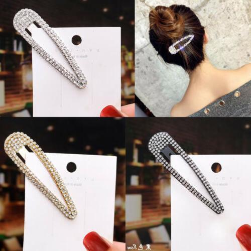 Fashion Pearl Metal Hair Clip Hairband Comb Bobby Pin Barret