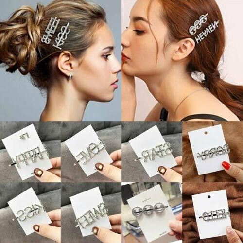 Fashion Pearl Hair Clip Pin Barrette Headdress
