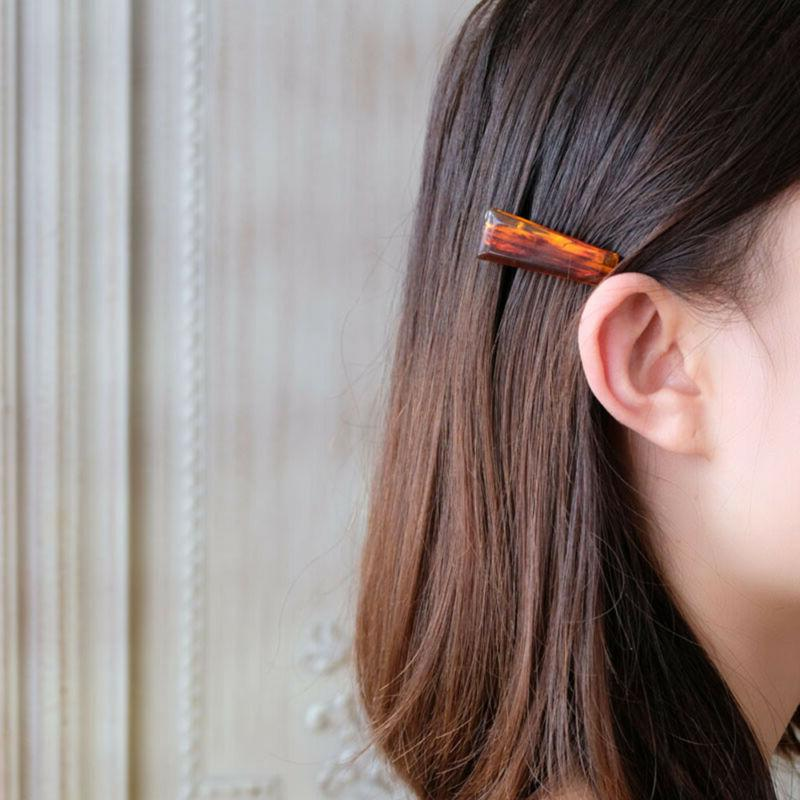 Fashion Marble Hairpins for Geometric Transparent