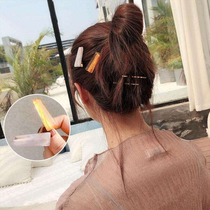 Fashion Resin Hairpins for Transparent Hair Clips